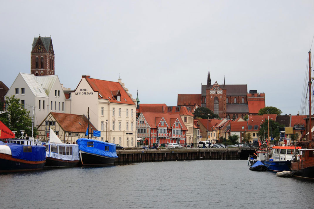 Alter Hafen, Wismar